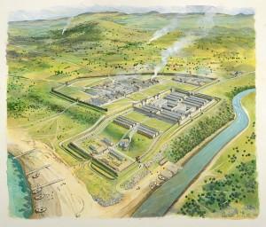 Cramond Roman Fort Reconstruction