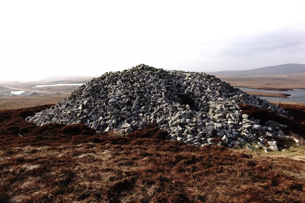 Burial Mound near Clachan, North Uist